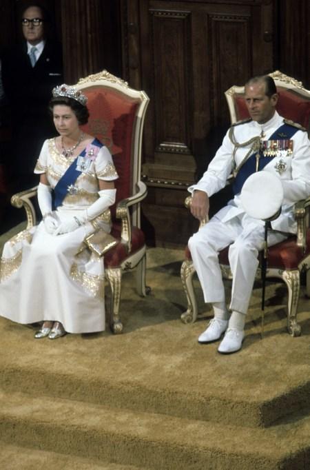 Queen Elizabeth II & Prince Philip in 1977