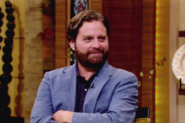Zach Galifianakis on ABC's Live with Kelly