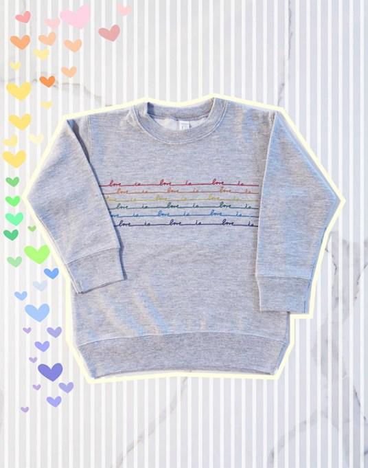 Feminist Tops for Kids | Love Is Love