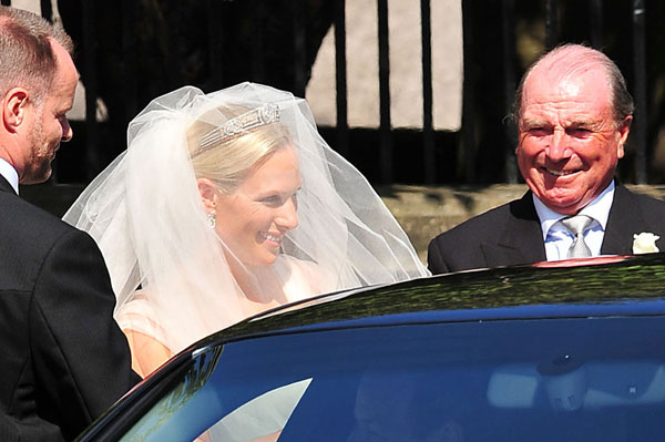 Zara Phillips royal wedding