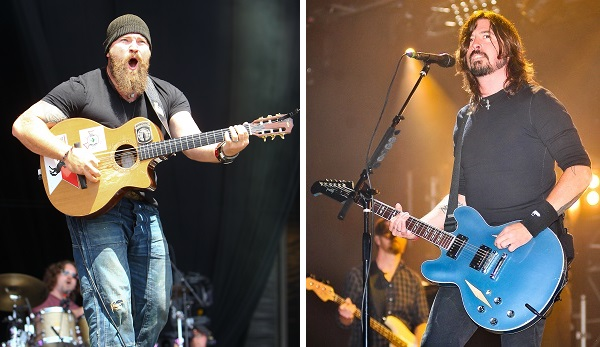 Zac Brown Band, Foo Fighters, Dave Grohl