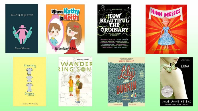 18 books about being transgender that
