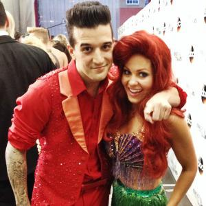 DWTS' Mark Ballas blogs: Sick with