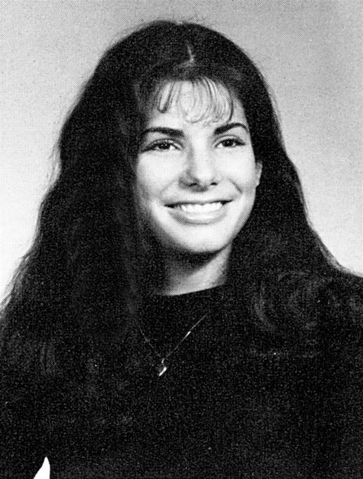 Sandra Bullock Yearbook Photo