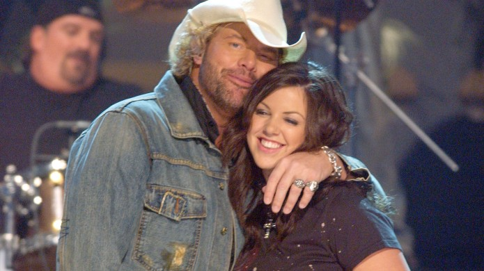 Toby Keith and daughter Krystal during