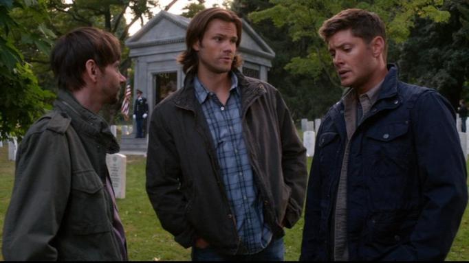 Jensen Ackles, Jared Padalecki, and DJ Qualls in 'Supernatural'