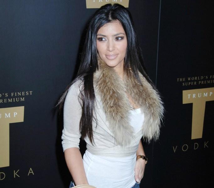 Kim Kardashian in 2007