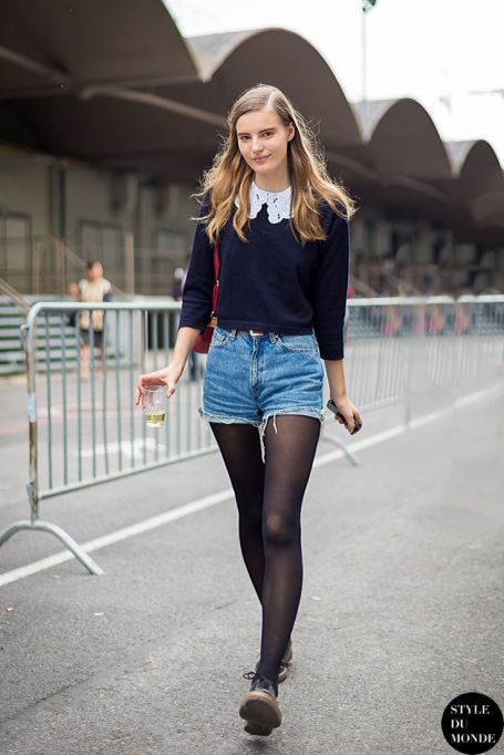 Bloggers Show You How to Wear Shorts for Fall : Style Du Monde