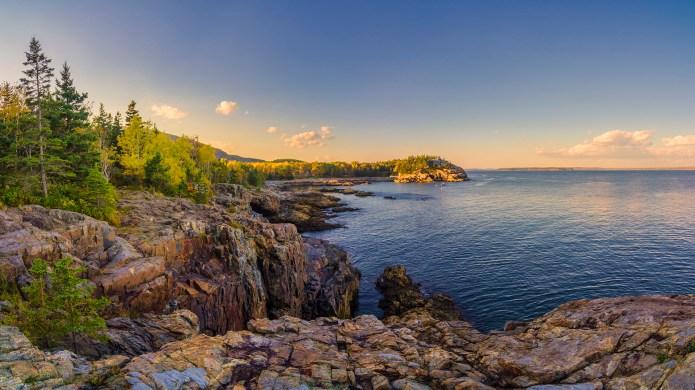 Acadia National Park's beautiful Schooner Head,