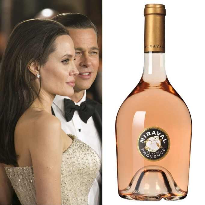 Angelina Jolie Brad Pitt Miraval Côtes de Provence Rosé