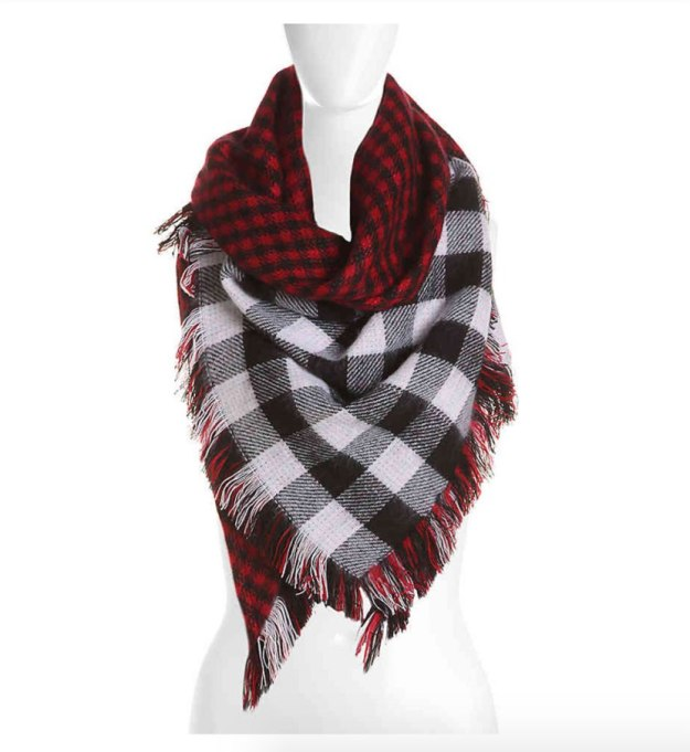 Blanket Scarves to Keep You Cozy This Fall and Winter: Mix No. 6 scarf at DSW   Fall and Winter Fashion 2017