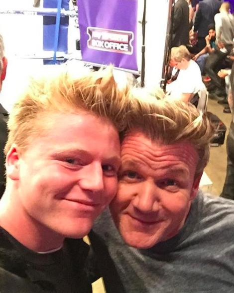Jack and Gordon Ramsay IG selfie
