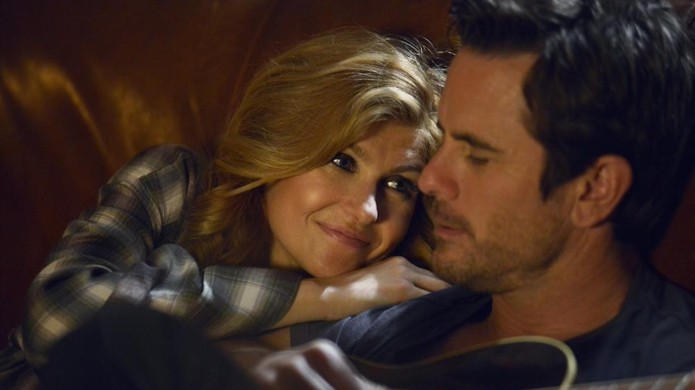 Still of Connie Britton and Charles