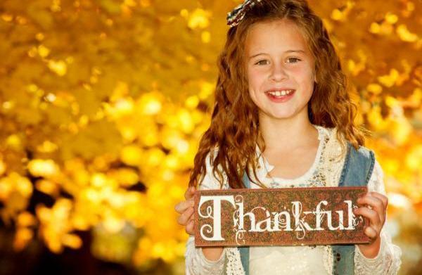 7 Ways to teach thankfulness to