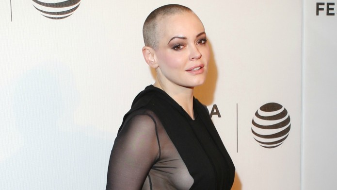 Rose McGowan posts sexy photo, revealing