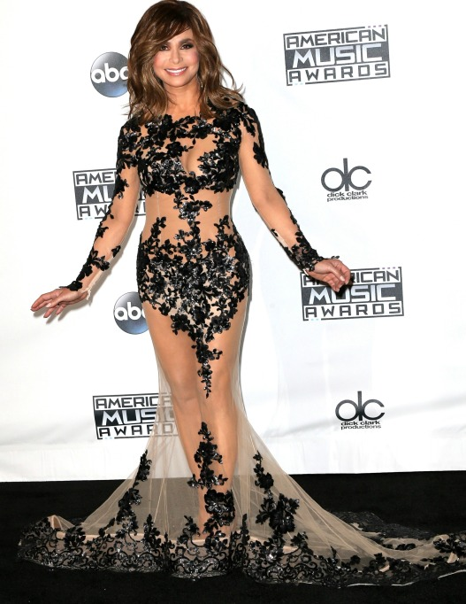 Paula Adbul naked dress