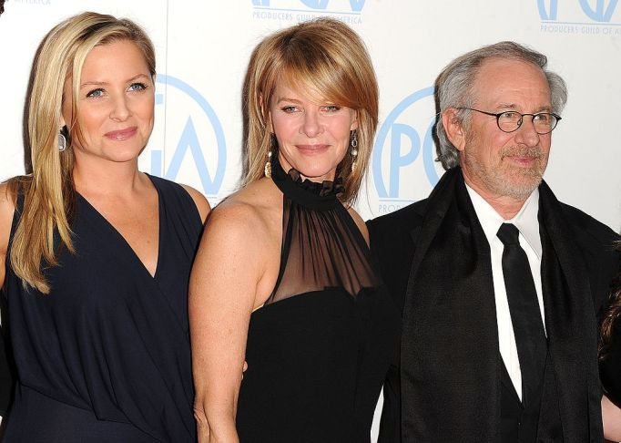 Celebrities with famous fathers: Jessica Capshaw & Steven Spielberg