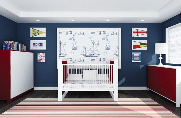 Decorating a nautical kid's bedroom