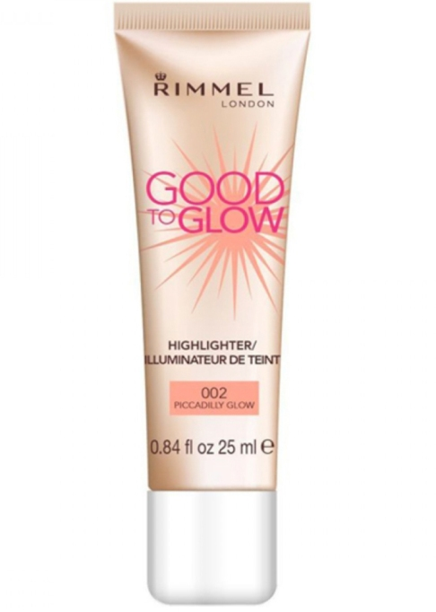 Our Favorite Under-$10 Drugstore Highlighters | Rimmel London Good to Glow Highlighter