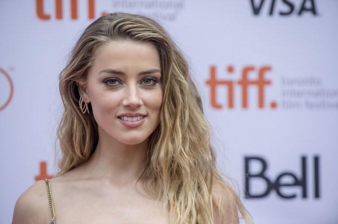 Amber Heard Golden Globes