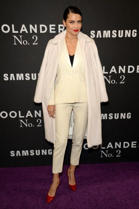 Adriana Lime at Zoolander premiere