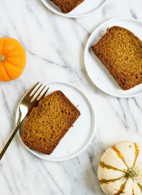 Dairy free dessert recipes: pumpkin bread