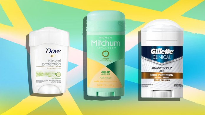 7 Clinical-Strength Deodorants for Fighting Body