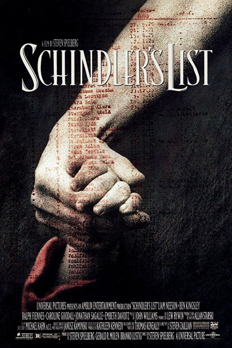 Movies turning 25 this year: Schindler's List