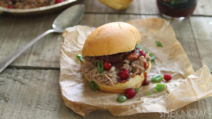 Slow Cooker Sunday: Cranberry barbecue pulled