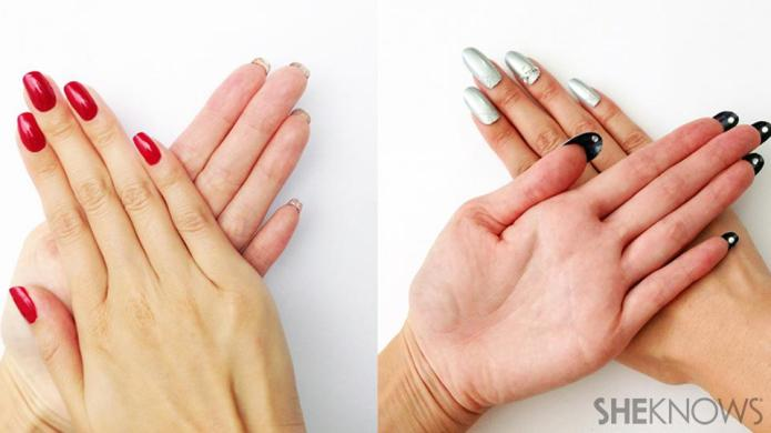 Look closely — this nail design