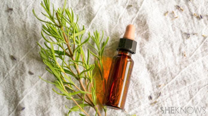 Easy DIY gift idea: Herbal-infused oils