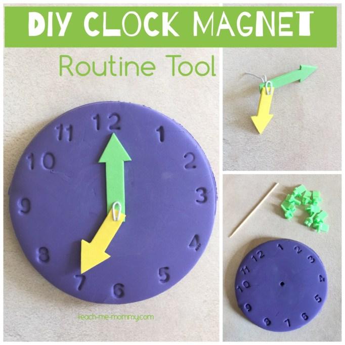 Clock magnet craft