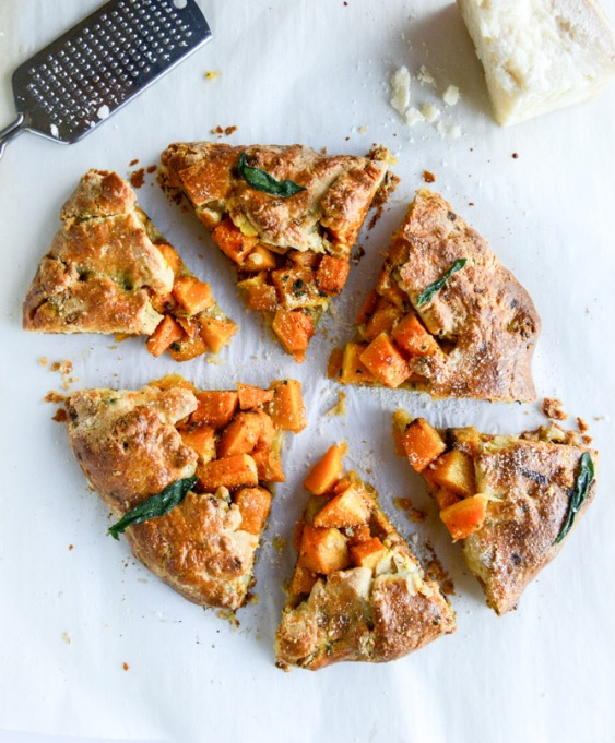 Fall veggie recipes: A festive fall galette is great at dinner parties