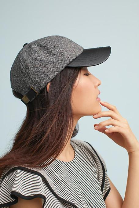 Must-Have Fall Hats: Herringbone Baseball Cap | Fall Fashion Trends