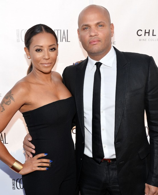 Mel B and Stephen Belafonte 2014