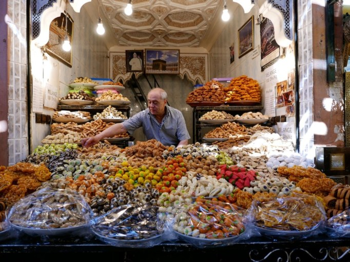 Market in Marrakech, Morocco