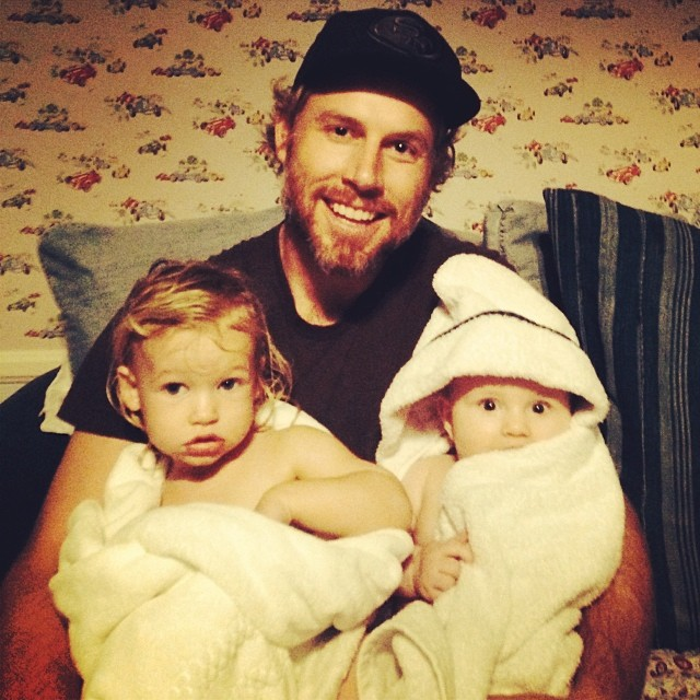 Jessica Simpson's family photos are totally beautiful: Eric Johnson cuddles Ace and Maxwell