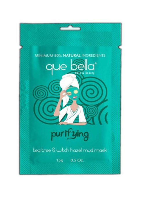 Drugstore Beauty Products Celebrities Genuinely Love | Que Bella Purifying Tea Tree And Witch Hazel Mud Mask