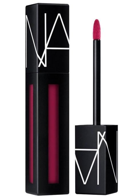 NARS's Powermatte Liquid Lipstick: Lip Pigment in Give It Up | 2017 Makeup trends