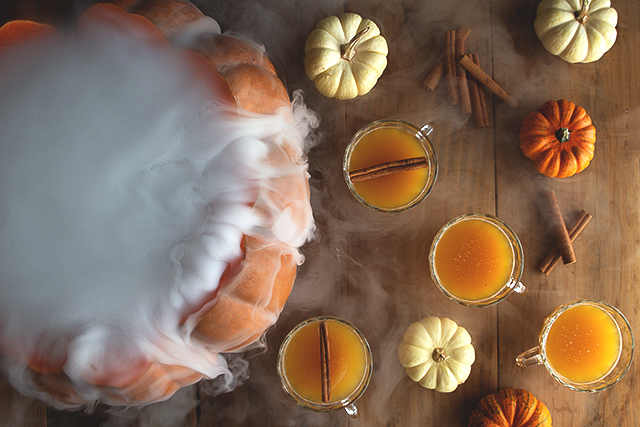 30 Halloween Cocktails & Mocktails That'll Take Your All Hallow's Eve to the Next Level: Pumpkin Patch Punch