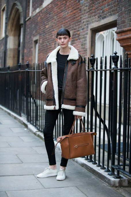 Perfect to Wear Shearling This Season | White, Black and Brown all Over