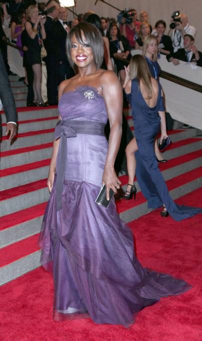 Viola Davis red carpet looks: 2010 Met Gala