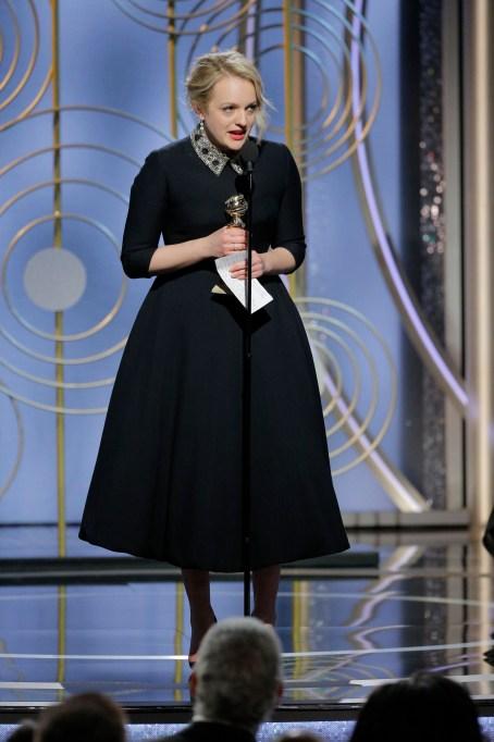 2018 Golden Globes Speeches: Elisabeth Moss