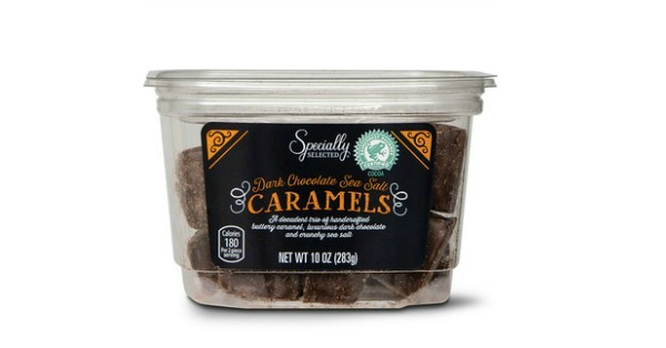 Dark Chocolate Sea Salt Caramels at Aldi
