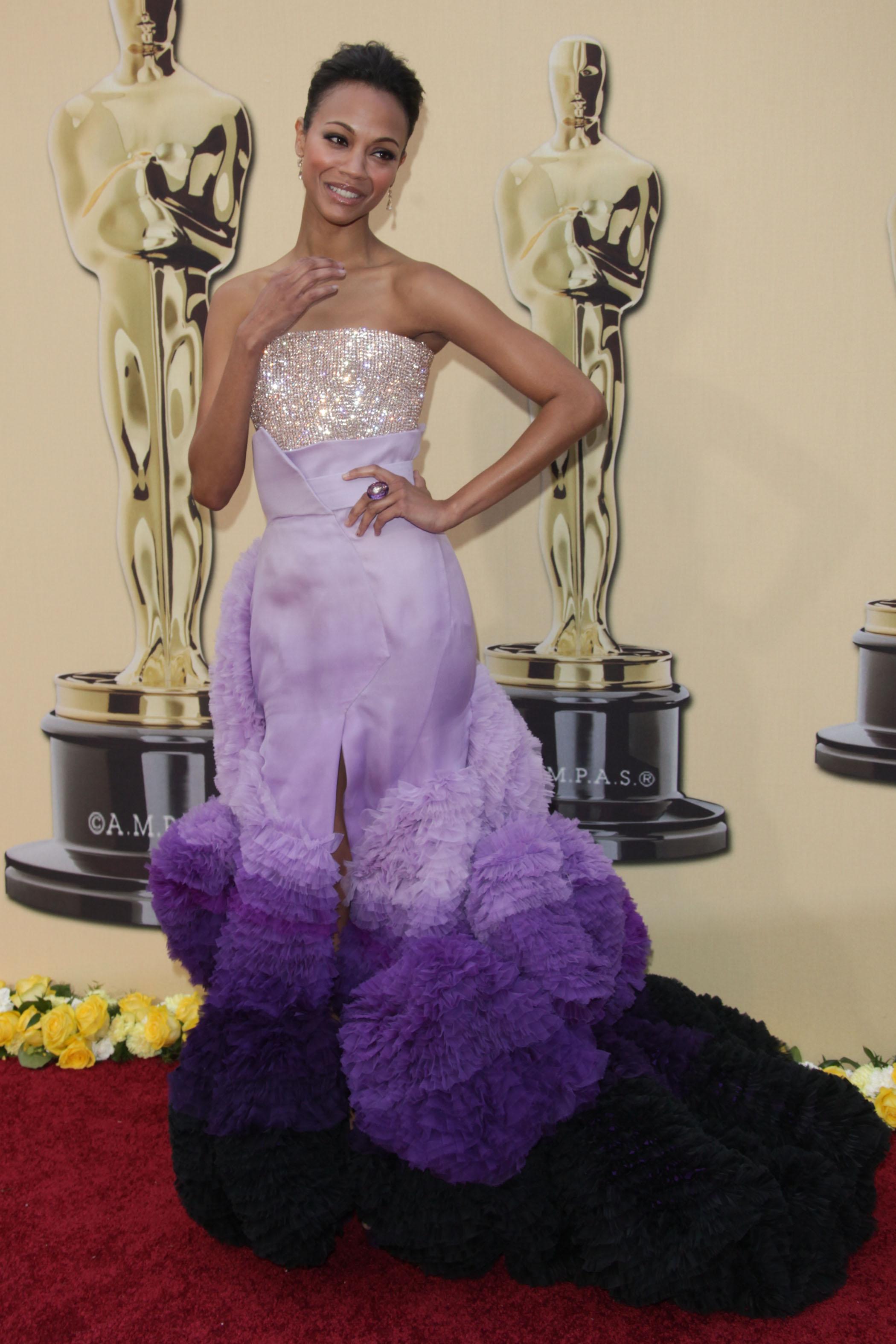 Zoe Saldana: Worst Dressed