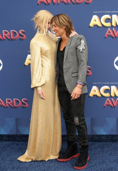 Nicole Kidman & Keith Urban at the 2019 ACMs