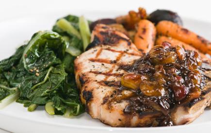 Tonight's Dinner: Balsamic Pork