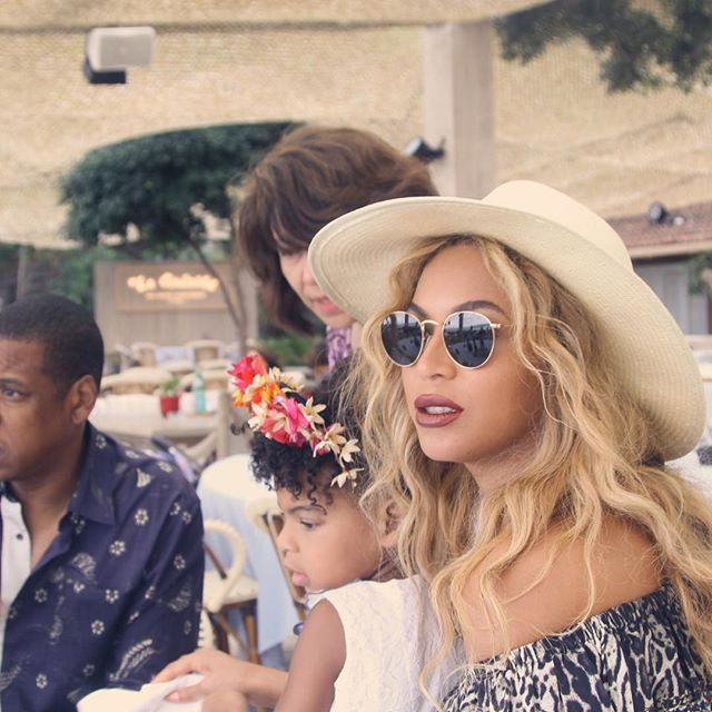 Beyonce Family Vacay