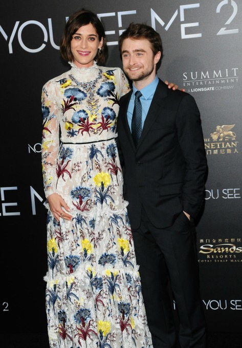 Daniel Radcliffe and girlfriend Erin Darke