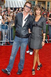 Lisa Rinna and Harry Hamlin's clothing